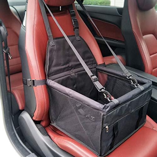 er Auto Booster Sitzbezug Einzelsitz,Klapp Sicherheit Haustier Atmungsaktive Sitzbezug Reisetasche Kleine Welpen (Color : G) ()