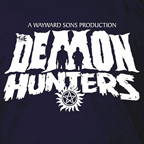 The Demon Hunters - Stofftasche / Beutel Schwarz