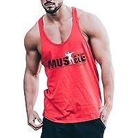 Hommes La Musculation Débardeur Raidisseur Gilet Gym Aptitude Coton