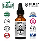 Organic Beard Growth Oil Conditioner - 30 ml - Fragrance Free - Smooth Out and Soften your Beard - For a Beard That Looks Shiny and Healthy with No Greasy Residue