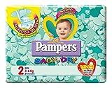 Pampers Baby Dry Pannolini Mini, Taglia 2, 3-6 Kg, 31 Pannolini