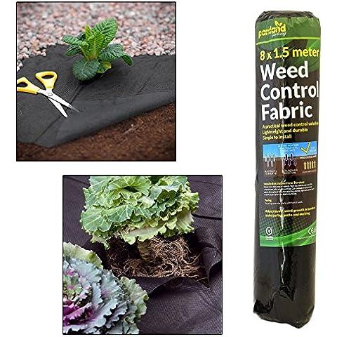 Parkland (8m x 1,5m erbacce tessuto a membrana Ground Cover foglio giardino paesaggio
