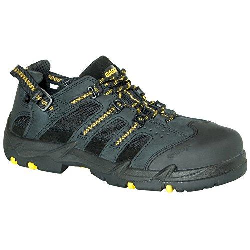 Mascot F0018–909–0907–1139el misti scarpe di sicurezza Nero/Giallo, Multicolore, F0018-909-0907-1142