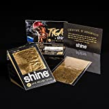 Shine 24K oro cartine King Size