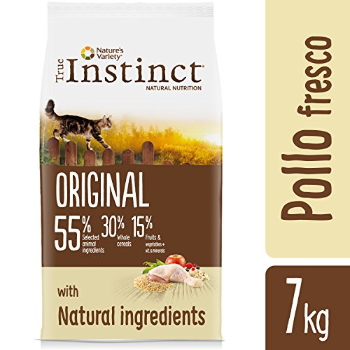 True Instinct Original Pienso para Gato Adulto con Pollo - 7 kg