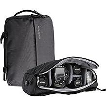 FoolsGold ibrido professionale SLR Fotocamera zaino borsa borsa con USB