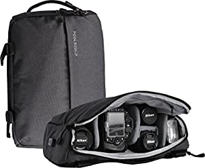 foolsgold appareil photo reflex hybride professionnel sac dos sac bandouliere avec usb en gris. Black Bedroom Furniture Sets. Home Design Ideas