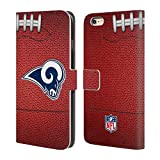 Head Case Designs Offizielle NFL Fußball 2018/19 Los Angeles Rams Brieftasche Handyhülle aus Leder für iPhone 6 Plus/iPhone 6s Plus