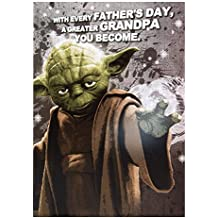Star wars yoda abuelito tarjeta del día del padre