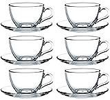 12tlg. Set Tassen mit Unterteller Basic