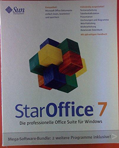 StarOffice 7; Pegasus Mail 42; ThumbsPlus. Mega-Software-Bundle. CD + Installationshandbuch+Benutzerhandbuch.