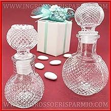 Ingrosso e Risparmio frascos de Cristal Transparente y Ahorro Transparente Trabajado con tapón esférico hermético para