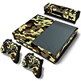 Stillshine Xbox ONE Design Folie Aufkleber für Konsole + 2 Controller + Kamera Sticker Skin Set (Army Camouflage)