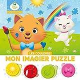 DISNEY BABY - Mes Premiers Pas - Puzzle 4 pièces - couleurs: Les couleurs