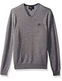 Fred Perry Fp Classic V Neck Sweater, Pull Homme, Taille Unique