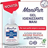 MANIPUR GEL IGIENIZZANTI MANI 70ML A base di Alcol + Tea tree oil