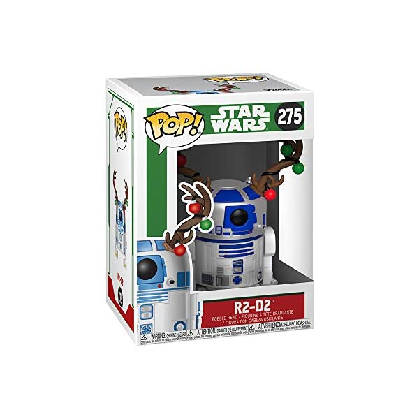 Funko Pop R2-D2 con cuernos de reno (Star Wars 275) Funko Pop Star Wars