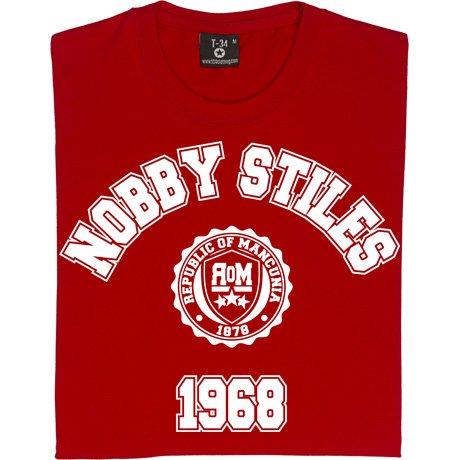 T34 Nobby Stiles 1968 Kids' T-Shirt
