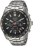 Pulsar Herren Analog Japanischer Quarz Uhr mit Edelstahl Armband PZ5005