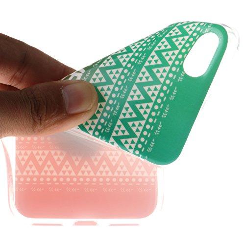 Voguecase® für Apple iPhone 6/6S 4.7 hülle, Anti-Rutsch Transparent Schutzhülle / Case / Cover / Hülle / TPU Gel Skin (Rutschfest/Faith) + Gratis Universal Eingabestift FOREVER YOUNG