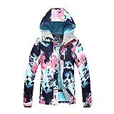 APTRO Damen Skijacke warm Jacke gefüttert Winter Jacke Regenjacke Mehrfarbig 9798 S