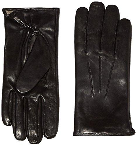 Roeckl Herren Handschuhe Klassiker Wolle Gr. 9.5 (Herstellergröße: 9.5) Schwarz (black 000) (Leder-wolle-handschuhe)