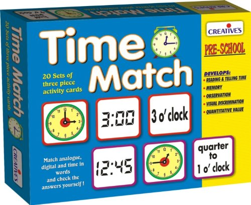 Creative Educational Aids 1062 Time Match