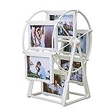Addfun Bilderrahmen, reg; 5 Zoll 12 stücke ABS Riesenrad Windmühle Fotoalbum Fotohalter Hochzeit und Kinderbilder