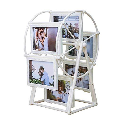 Addfun Bilderrahmen, reg; 5 Zoll 12 stücke ABS Riesenrad Windmühle Fotoalbum Fotohalter Hochzeit und Kinderbilder -
