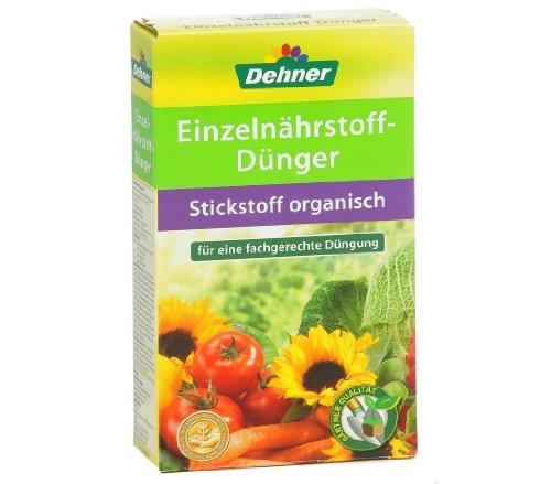 Dehner Einzelnährstoff-Dünger Stickstoff, organisch, 1 kg