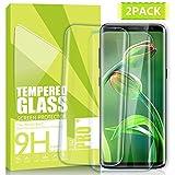 Nutmix Galaxy S8 Verre Trempé, [Lot de 2] Couverture Complète Film Protection D'écran en Verre Trempé, Protecteur d'écran pour Galaxy S8, Ultra-mince, Dureté 9H, Ultra Résistant - Transparent