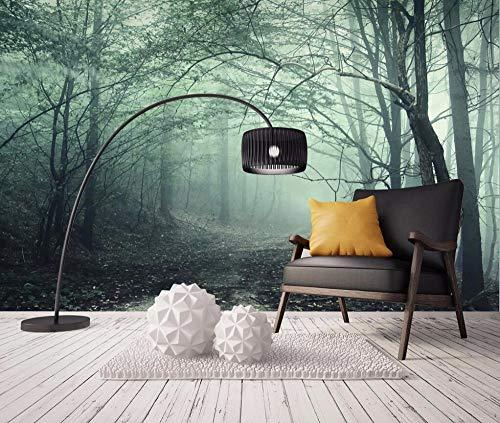 BGRWE Tapete Europäischen Retro Forest Trail Landschaft Wandbild TV Hintergrund Wand Wohnzimmer Schlafzimmer Wandbild 3d Tapete, TE8U8Re1-400x280 cm (157.5 von 110.2 in)