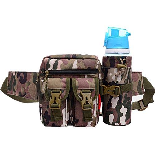 Multifunktion Bauchtasche Gürteltasche Hüfttasche Sports Taschen Outdoor (schwarz) armee-grün