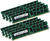 Samsung 64GB Eight-Kit 8x 8GB ECC DDR3 Dual Rank 1333 Mhz PC3-10600 240-polig DIMM für Apple Mac Pro 4,1 5,1 (2009 bis 2014) mit THERMAL SENSOR