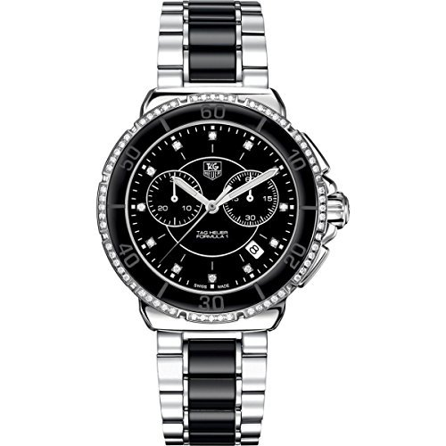 TAG Heuer Women's Formula One Black Diamond Chronograph Watch CAH1212.BA0862, Model: CAH1212.BA0862, Hand/Wrist Watch Store by Hand/Wrist Watch Shop
