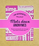Magnets mots doux anonymes