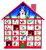 Premier Decoration Wooden Advent House, 40 cm