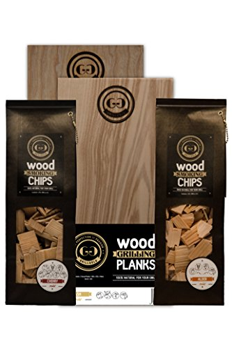 Grillgold WINTERGRILL-SET Smoking Chips & Wood Grilling Planks