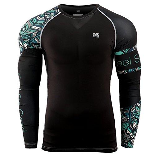 zipravs MMA Kompressions-Shirt, langärmelig L ZCDS-117 -
