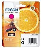 """Epson Cartouche d'Origine T33 """"Oranges"""" - Encre Claria Home Magenta"""
