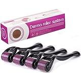 Luxeur Drs Derma Roller System 540 Titanium Needle 1.5 mm Scar Reduction Skin Glow