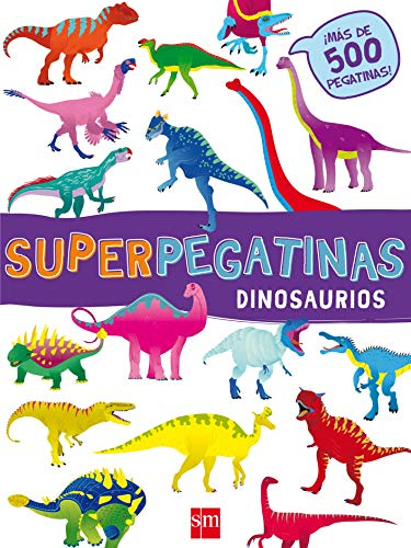 Superpegatinas Dinosaurios por De Agostini Libri