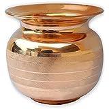 State pride-T Pure Copper Lota/Kalash Ayurvedic Water Drinking Lota (800 Ml), Serveware drinkware- Ayurvedic Health Benefits