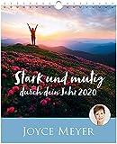 Stark und mutig durch dein Jahr 2020 - Postkartenkalender - Joyce Meyer