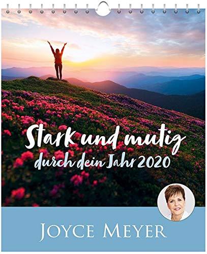 Stark und mutig durch dein Jahr 2020 - Postkartenkalender