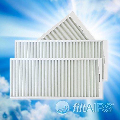 Ersatzfilter Set G4 - bestehend aus 3 Filtern passend für Vaillant RecoVair 275/350 / Westaflex 300WAC/400WAC