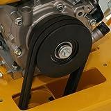 DENQBAR Profi Rüttelplatte mit Benzinmotor mit 20 kN Verdichtungsdruck - 3