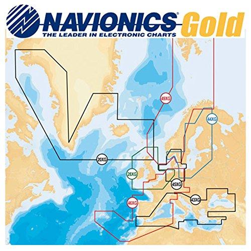 Lowrance Navionics Digitale Seekarten Skagerrak Kattegat SD Card 45XG/MSD, 000-11310-001