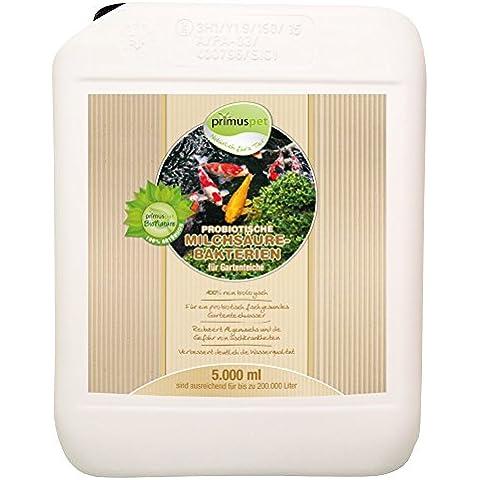 primuspet probio Mesas lactobacillales Pond 5000ml (muy eficaz y eficaz para la prevención de bakteriellen infecciones, Enfermedades y para fortalecer el immunsystems el estanque sus habitantes)