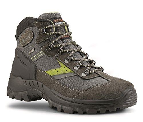 Grisport Unisex Schuhe Herren und Damen Trekking mid Trekking- und Wanderstiefel, atmungsaktive Gritex-Membran-Konstruktion V1